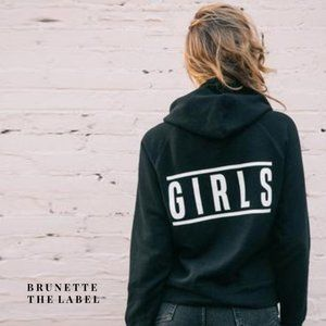 BRUNETTE THE LABEL Cropped Hoodie Girls XS/S